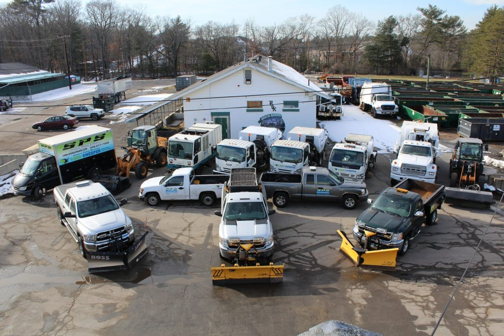 Parking Lot Sweeping, Debris Haul off, Raynham Massachusetts, Greater Boston Area