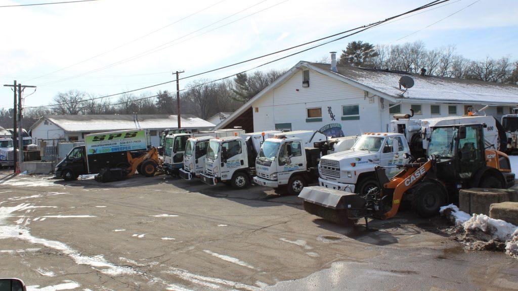 Parking Lot Sweeping, Debris Haul off, Raynham Massachusetts, Greater Boston Area
