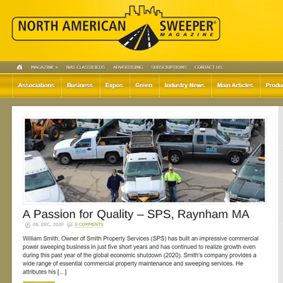 Snow Plowing, Street Sweeping, Raynham Massachusetts, Greater Boston Area